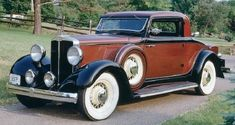 1932 Hupmobile 222F Coupe - (Hupp Motor Car Corp. Detroit, Michigan, 1908-1940)