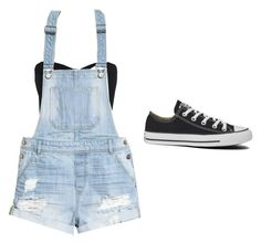 """""""Set#152"""" by anneclo2 on Polyvore featuring sass & bide, H&M and Converse"""