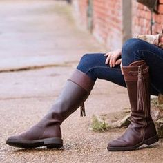 Decoration:Tassel Theme:Winter Occasion:Casual Upper Material:PU Heel Type:Flat Heel Lining Material:PU,Flocking Mens Shoes Boots, Leather Boots, Flat Boots, Knee High Boots, Winter Fashion Casual, Comfortable Boots, Boots Online, Riding Boots, Cowgirl Boots