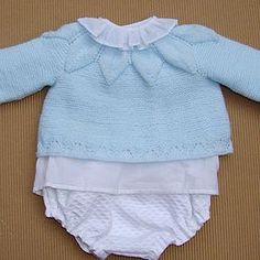 tutorial para hacer Jersey de bebé con dibujo de hojas f4039274921f