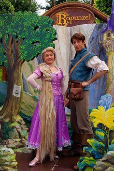 Rapunzel & Flynn Rider @ Disneyland Paris