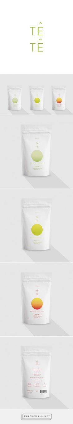 Têtê – tea packaging,  I honestly wasn't sure what the product was but I was oddly  drawn to the packaging when I saw it.: