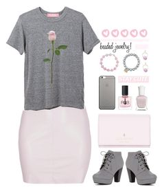 """cute"" by breeches ❤ liked on Polyvore featuring Boohoo, Effy Jewelry, Sydney Evan, ANNA, Kate Spade, Native Union, Deborah Lippmann, RGB Cosmetics and Marni"