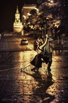 """""""Diego Riemer & Maria Belén Giachello, Tango in Moscow"""" by Alexander Prischepov"""