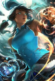 Supercool fanart// I don't know who the owner is tho  #korra#avatar