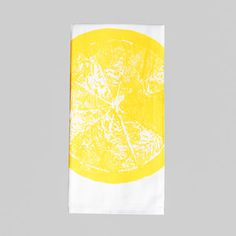 Lemon Kitchen Towel now featured on Fab.