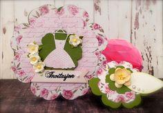 Synnøves Papirverksted: Flowercard