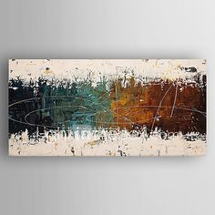 Oil Painting Modern Abstract  Hand Painted Canvas with Stretched Framed - USD $69.99 ! HOT Product! A hot product at an incredible low price is now on sale! Come check it out along with other items like this. Get great discounts, earn Rewards and much more each time you shop with us!