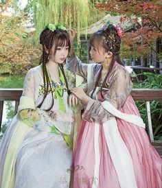 hanfu gallery (Traditional Chinese hanfu. Type: qiyao...)