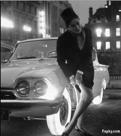 LIFE Magazine - Illuminated Tyres were invented in 1961 by tyre giant Goodyear.. They just stuck some brightly lit bulbs inside the wheel rim and managed to grab a spot in the dumbest invention of the 20th Century!