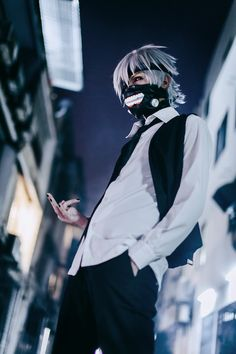 Nero Vi(Nero) Ken Kaneki Cosplay Photo - WorldCosplay Follow me on Facebook @ Facebook.com/Kentipede
