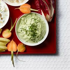 Avocado, Mint, and Yogurt Dip | MyRecipes.com