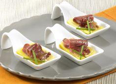 Cuillère apéritive au canard et à la mangue - Recept » Colruyt Culinair