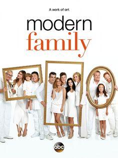 MODERN FAMILY Season 8 Poster via @seat42f