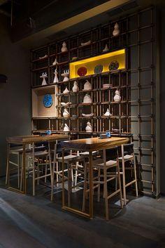 Design for EAST pan-asian restaurant | Kyiv, Ukraine