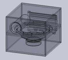 Inch Bandpass Subwoofer Box Design D Cad Model Library Grabcad with 12 Inch Speaker Box, Car Speaker Box, Speaker Box Design, 12 Inch Subwoofer Box, Diy Subwoofer, Subwoofer Box Design, Sub Box Design, Diy Speakers, Diy Electronics