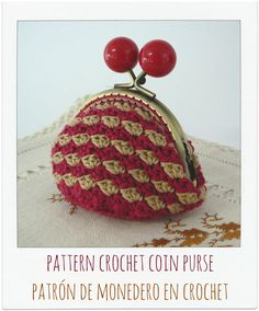 Model nº 9    ♥♥♥♥♥♥♥♥♥♥♥♥♥♥♥♥♥♥♥♥♥♥  PATTERN crochet coin purse.  ♥♥♥♥♥♥♥♥♥♥♥♥♥♥♥♥♥♥♥♥♥♥    This is a PDF PATTERN and instructions for making your crochet coin purse.    The dimensions of the finished product is approximately 11cmx9cm.    This pattern is HIGH difficulty, is available in English and Spanish and includes:  - Photographs of finished product.  - Pattern  - Stitch Legend - Instructions for rounds  - Tips    The stitch used to have to know are:  - Chain  - Adjustable ring…