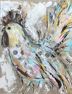 I've been working on a series of whimsical farm animals on linen canvases. They are all mixed media pieces, and I am still in the process of creating more of them. Right now I have several listed in my shop … Continued