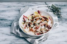 Endive with Bacon and Buttermilk Ranch Dressing // Brooklyn Supper for @food52