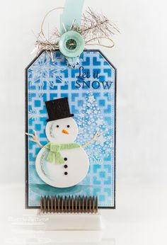 Starry Christmas; Pierced Tradtional Tag STAX Die-namics; Traditional Tags STAX Die-namics; Snow Globe Die-namics; Square Tiles Stencil - Sherrie Siemens