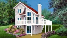 Saltbox House Plans on Saltbox House Plans A Colonial Style Design