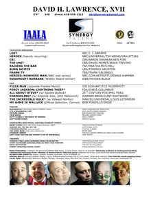 acting resume template no experience http www resumecareer