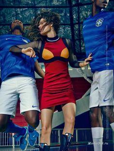 Модные новости: Модные фотосессии в стиле спорт-шик 2014