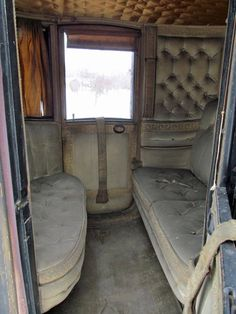 Lost | Forgotten | Abandoned | Displaced | Decayed | Neglected | Discarded | Disrepair | Circa 1850 Clarence Coach interior