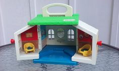 Little Tikes Toddle Tots House Cottage #0680 Doll Dollhouse #LittleTikes