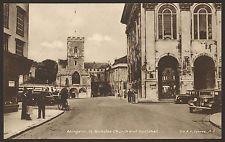 Oxfordshire. Abingdon. St. Nicholas Church & Guildhall. Nice Vintage Postcard