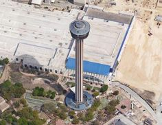 O'Neil Ford, Tower of the Americas, 1968, San Antonio, Texas