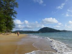 Our first stop in Thailand - Nai Yang beach