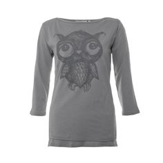 Mama FeelsGood - Sketch Owl Breastfeeding top, £17.99 (http://www.mamafeelsgood.com/sketch-owl-breastfeeding-top/)