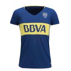 2017 Women Jersey Boca Juniors Home Replica Blue Shirt [BFC56]