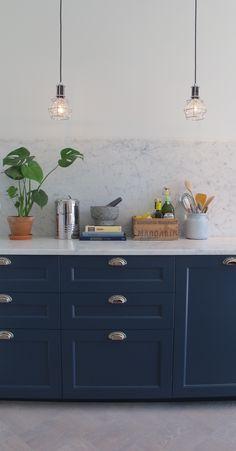 Blått kök – Interiorstories