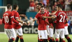 Man United 3, Liverpool 1. Man Utd are your 2014 Int'Champions Cup winners!