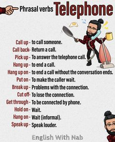 I want to focus on telephoning vocabulary… as this is one of the life skills my students often struggle with making phone calls in English… We also look at the phenomenon of telephone p… English Learning Spoken, Teaching English Grammar, English Writing Skills, Learn English Words, English Language Learning, English Sentences, English Phrases, English Idioms, English Lessons
