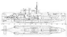 British midget sub design details