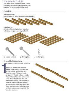 How to Make a Fold Out SofaFutonBed Frame Futon bed frames