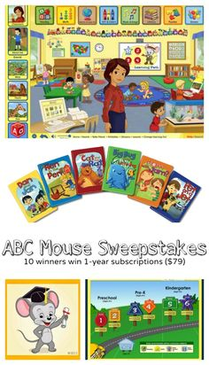 ABC Mouse Sweepstakes on Imagination Soup Win a Year Subscription to ABC Mouse