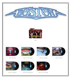 Album Art Icons: Boston
