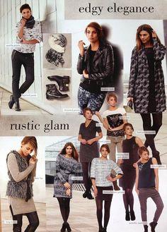 Lookbook: Edgy elegance and  Rustik  glam 2014/2015