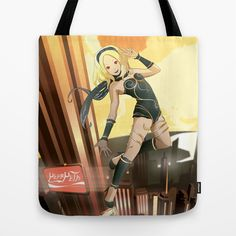 New Illustration! New bag!!! (and more product! :D) Gravity Rush Fan Art Tote Bag by Lorenzo Imperato - $22.00  #totebag #borsa #psvita #playstation #gravityrush #tshirt #illustration #vector #playstation #game #videogame
