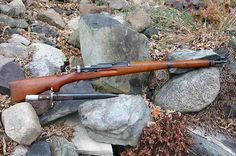 Swiss K-31, straight pull action rifle renowned for it's accuracy.