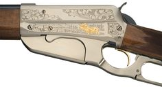 Engraved 1 of 1000 Browning Model 1895 High Grade Lever Action Rifle with Box