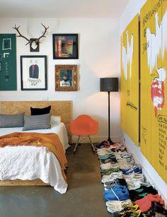 Le loft de DJ Cumhur Jay à Madrid via Notreloft.com