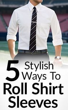 Rolling your shirt sleeves. It's a small detail. But it makes a huge difference in the silhouette of your outfit. The way you roll them can keep a formal outfit formal in hotter weather. Or take it to business casual. It is a fundamentally simple art that takes a few minute