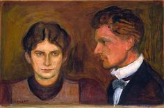 Aase and Harald Nørregaard - Edvard Munch Harald Nørregaard (painted by Munch in 1899, National Gallery) was one of Munch's closest friends since adolescence, adviser and lawyer