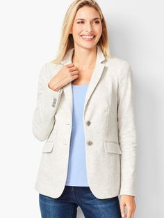 Classic Style Women, Modern Classic, Best Blazer, Striped Scarves, Aberdeen, Princess Seam, Jacket Style, Grey Stripes, Houndstooth