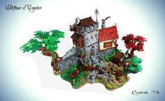https://flic.kr/p/okRyEk | WTA1 | This is Watchtower of Gragollon, my entry for the 5th task of GoH on Eurobricks.